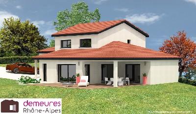 Maisons du constructeur DEMEURES RHONE ALPES • 130 m² • PONTCHARRA SUR TURDINE