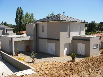 Maisons du constructeur DEMEURES RHONE ALPES • 100 m² • CHAUSSAN