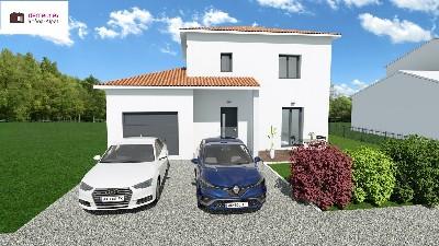Maisons du constructeur DEMEURES RHONE ALPES • 90 m² • VILLEFRANCHE SUR SAONE