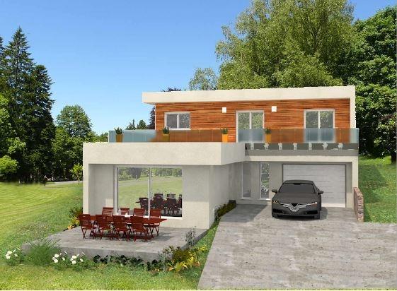 Maisons du constructeur DEMEURES RHONE ALPES • 160 m² • LENTILLY