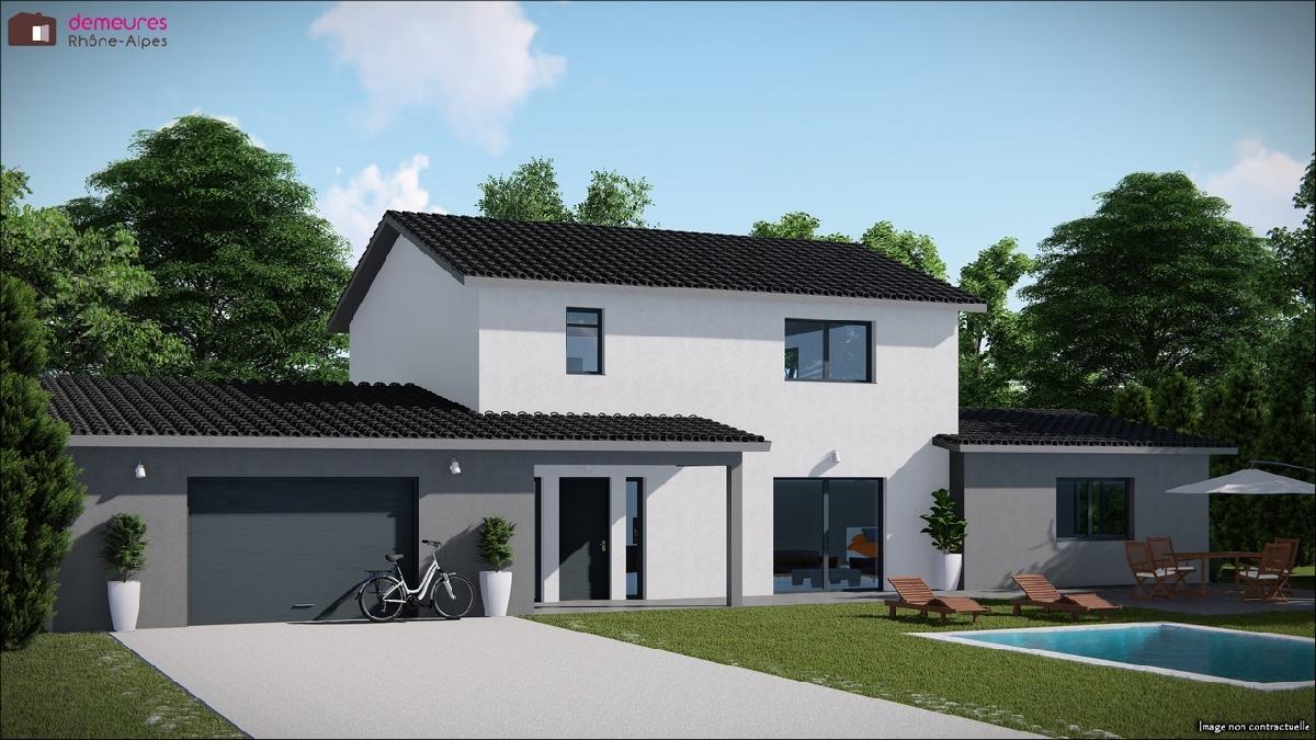Maisons du constructeur DEMEURES RHONE ALPES • MONSOLS