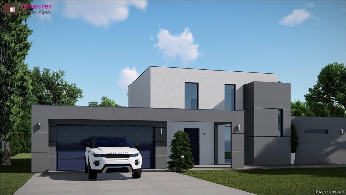 Maisons du constructeur DEMEURES RHONE ALPES • 180 m² • LENTILLY