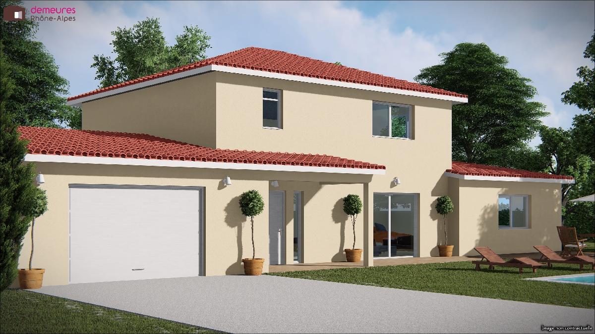 Maisons du constructeur DEMEURES RHONE ALPES • FLEURIEU SUR SAONE