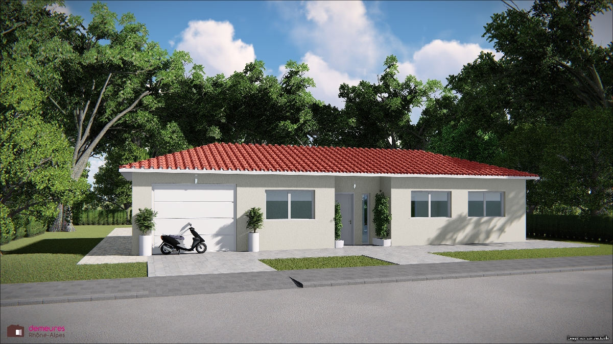 Maisons du constructeur DEMEURES RHONE ALPES • SAINT ETIENNE DES OULLIERES