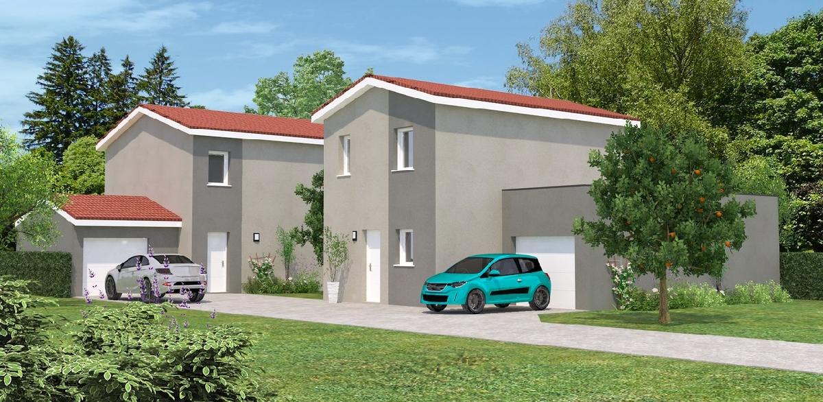 Maisons du constructeur DEMEURES RHONE ALPES • CONDRIEU
