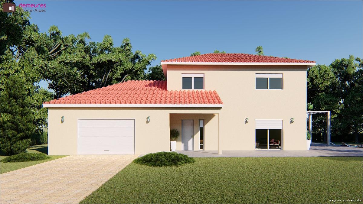 Maisons du constructeur DEMEURES RHONE ALPES • MORNANT