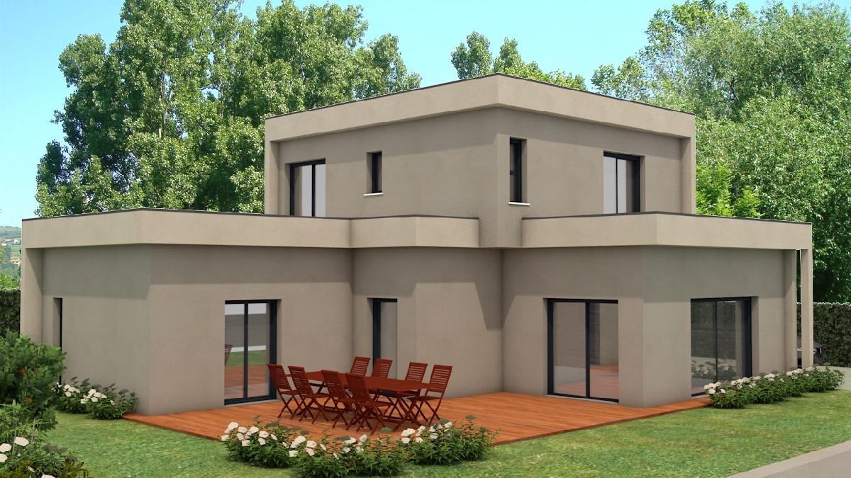 Maisons du constructeur DEMEURES RHONE ALPES • 142 m² • LISSIEU