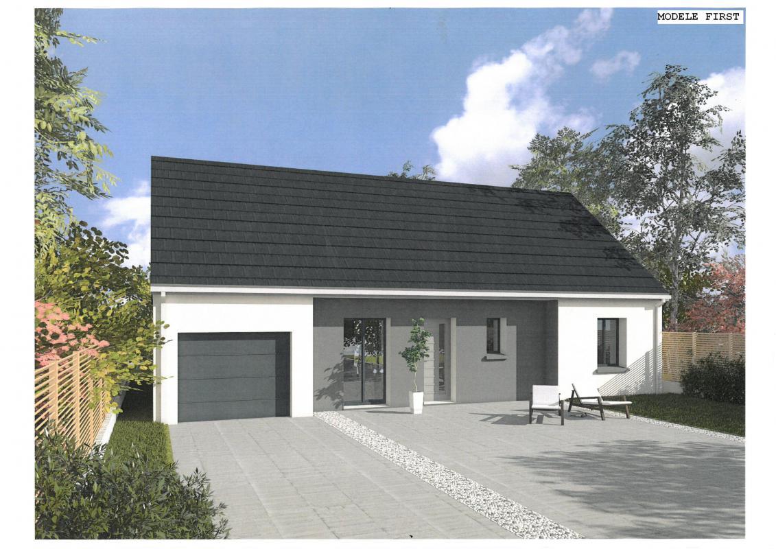 Maisons du constructeur EURO-DAREL • 76 m² • NOUZILLY