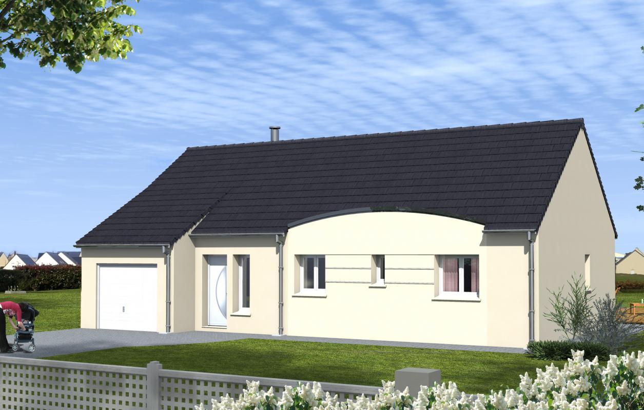 Maisons du constructeur MAISONS DONA • 90 m² • VILLAINES LES ROCHERS
