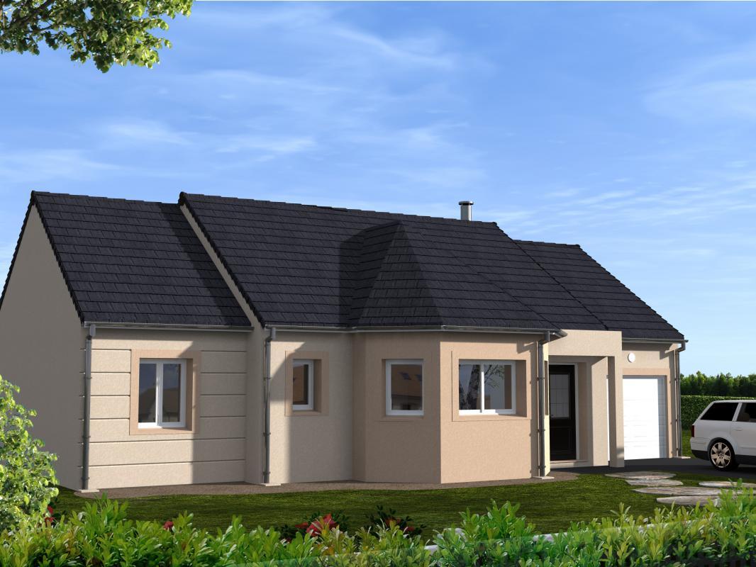 Maisons du constructeur EURO-DAREL • 90 m² • BALLAN MIRE