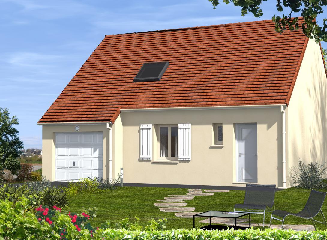 Maisons du constructeur EURO-DAREL • 85 m² • NEUILLE PONT PIERRE