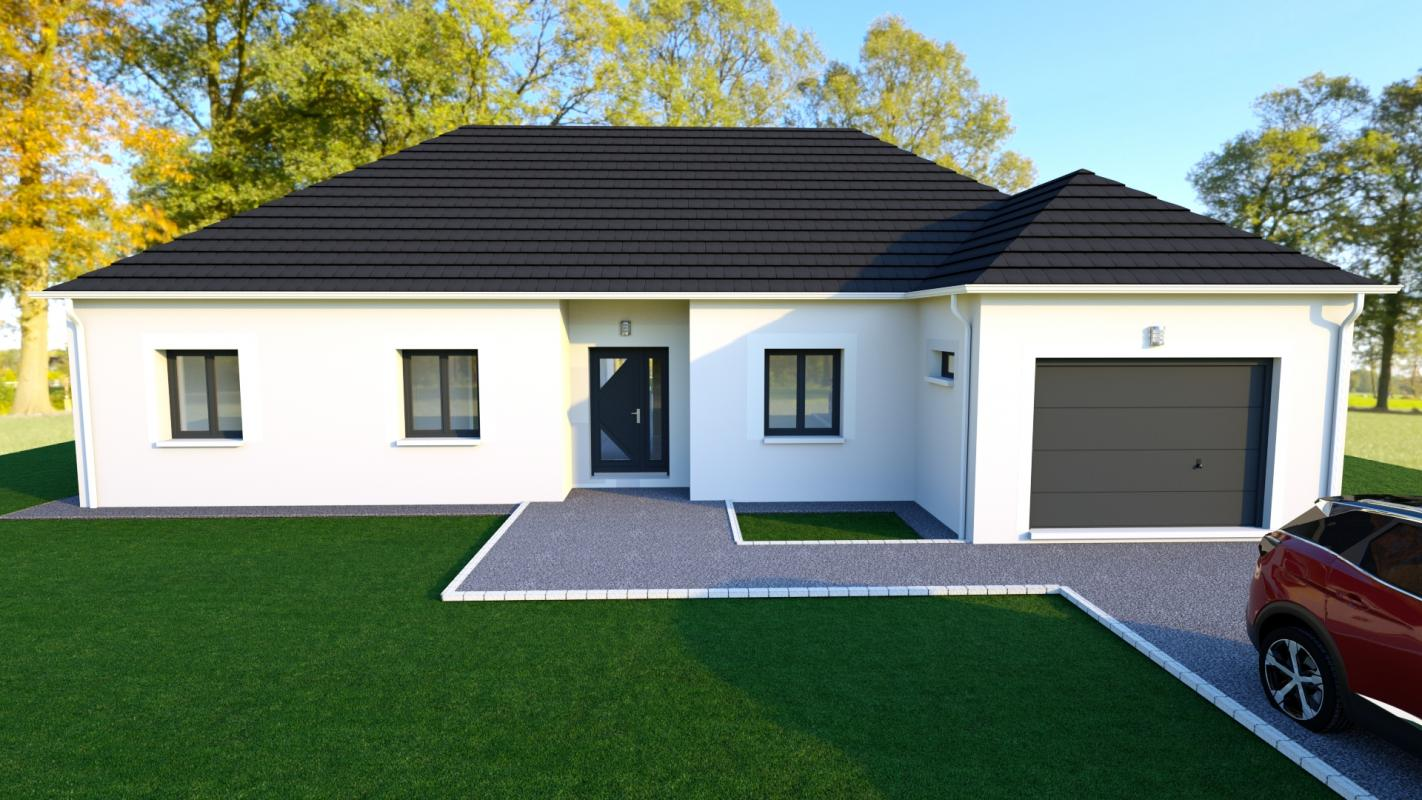 Maisons du constructeur EURO-DAREL • 103 m² • GRON