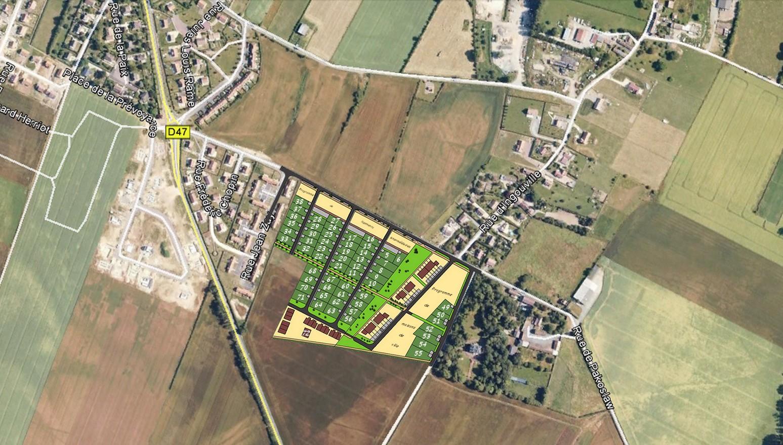 Terrains du constructeur FONCIM • 481 m² • MOULT