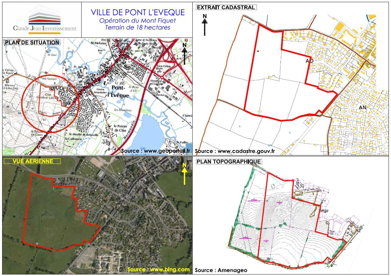 Terrains du constructeur FONCIM • 421 m² • PONT L'EVEQUE