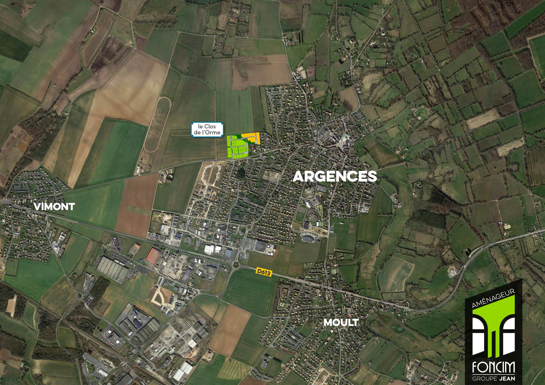 Terrains du constructeur FONCIM • 411 m² • ARGENCES
