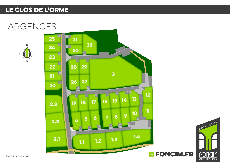 Terrains du constructeur FONCIM • 395 m² • ARGENCES