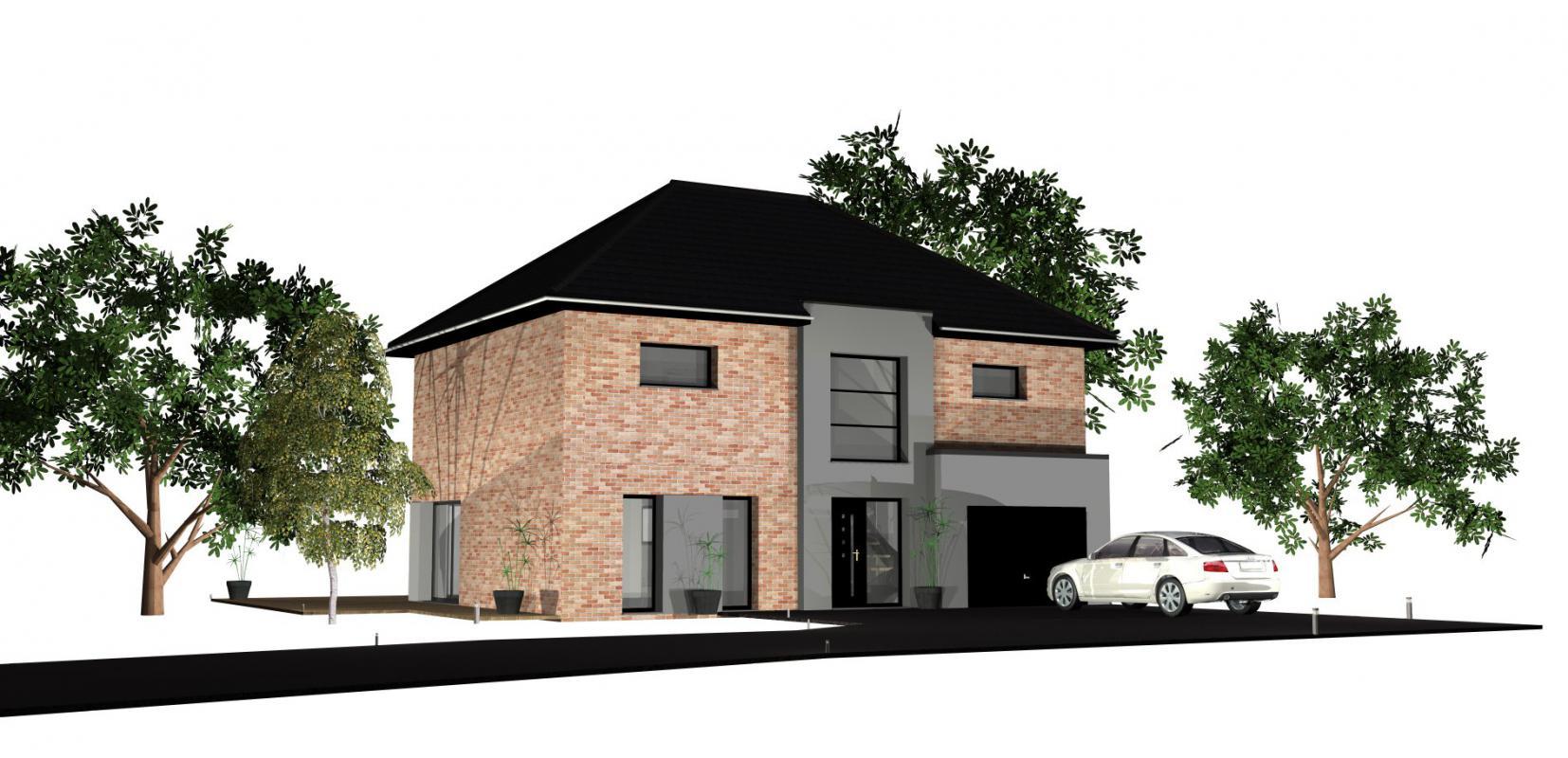 Maisons + Terrains du constructeur MAISONS D EN FRANCE NORD • 150 m² • MERRIS