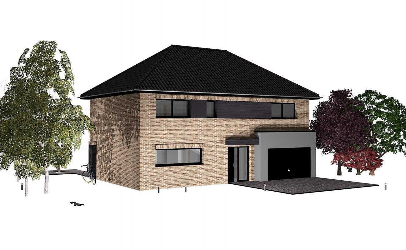 Maisons + Terrains du constructeur MAISONS D EN FRANCE NORD •  m² • THUMERIES