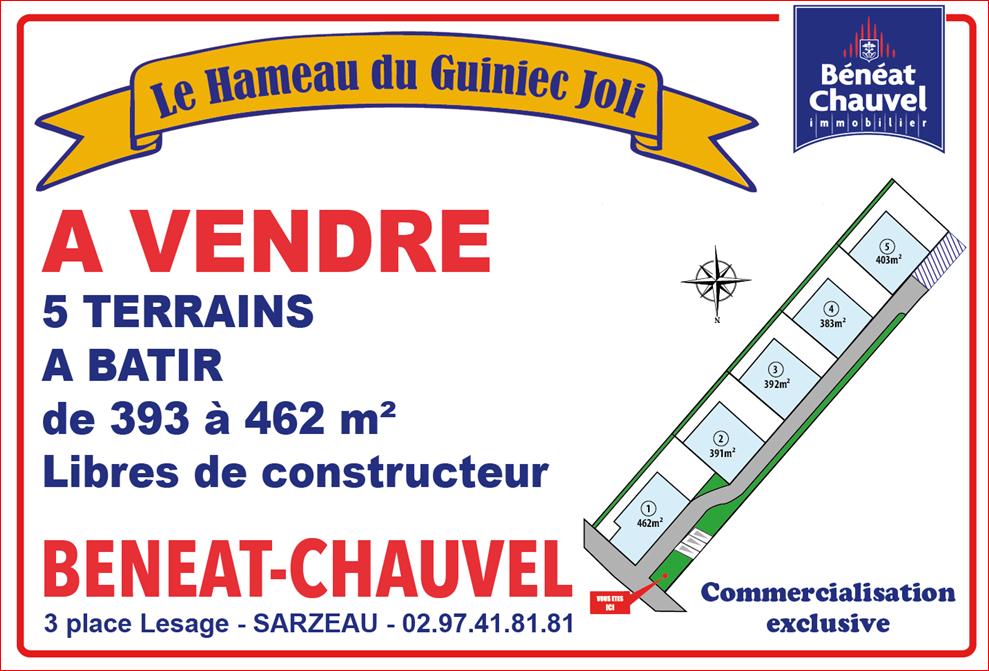 Terrains du constructeur BENEAT CHAUVEL • 392 m² • SAINT ARMEL