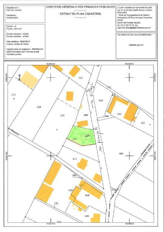 Terrains du constructeur SCP GALLET BROUSSE • 680 m² • AUDREHEM