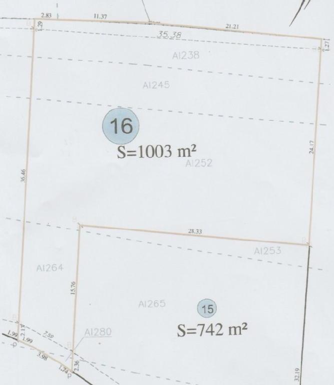 Terrains du constructeur BELLIS IMMO TRANSACTIONS • 1003 m² • LAMARCHE SUR SAONE