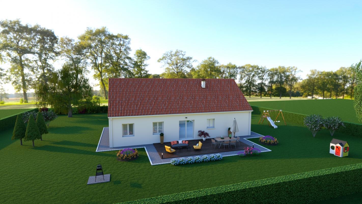 Maisons + Terrains du constructeur MAISONS DONA • 103 m² • SAINT MICHEL DE VOLANGIS
