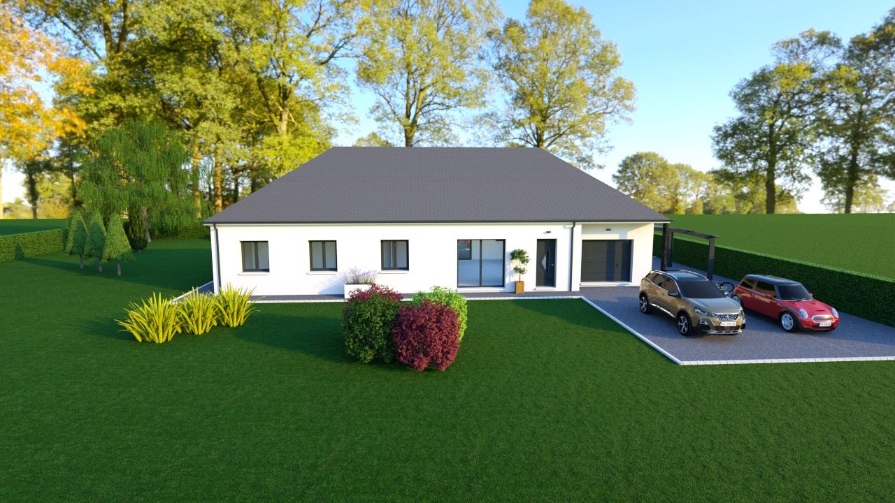 Maisons + Terrains du constructeur MAISONS DONA • 110 m² • SAINT MARTIN D'AUXIGNY