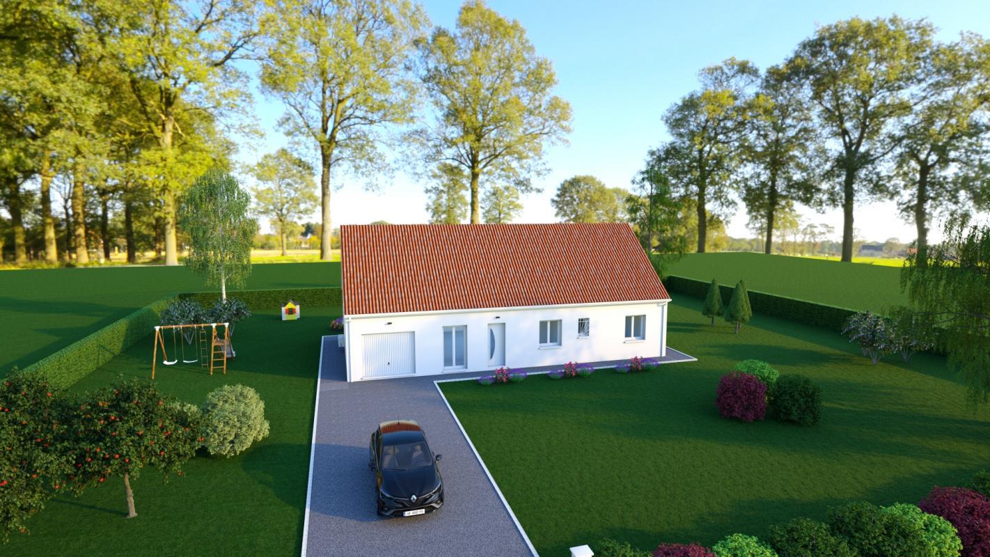 Maisons + Terrains du constructeur MAISONS DONA • 104 m² • BRECY