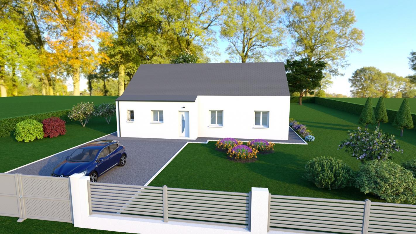 Maisons + Terrains du constructeur MAISONS DONA • 102 m² • NOZIERES