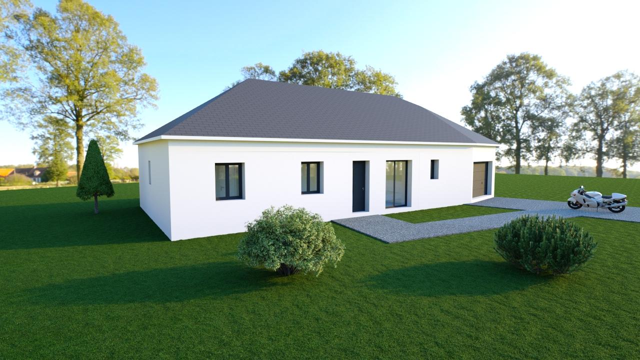 Maisons + Terrains du constructeur MAISONS DONA • 104 m² • ALLOUIS