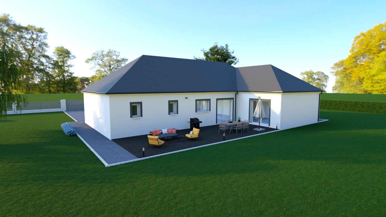 Maisons + Terrains du constructeur MAISONS DONA • 100 m² • BERRY BOUY