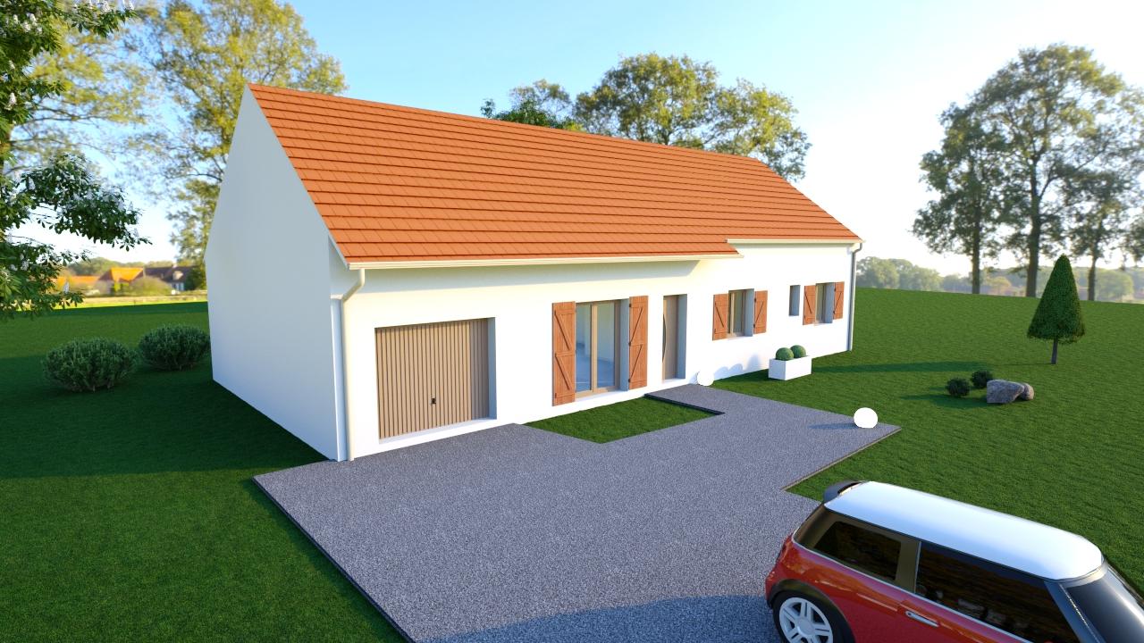 Maisons + Terrains du constructeur MAISONS DONA • 90 m² • SAINT AMAND MONTROND
