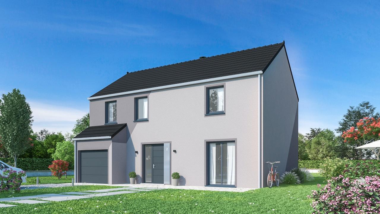 Maisons + Terrains du constructeur MAISONS PHENIX • 132 m² • NANTEUIL LES MEAUX