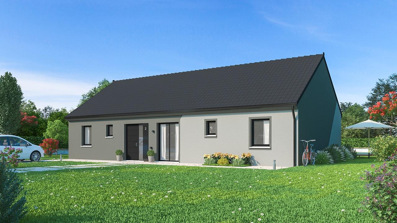 Maisons + Terrains du constructeur MAISONS PHENIX • 128 m² • VARREDDES