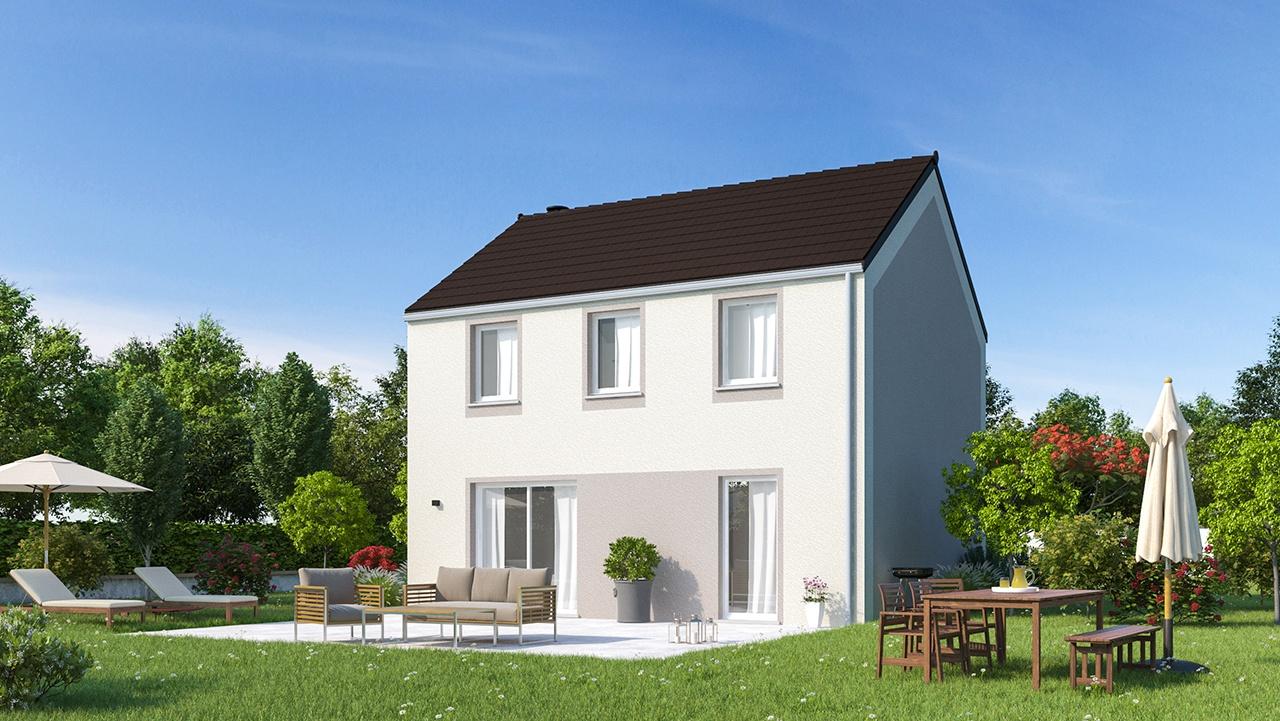Maisons + Terrains du constructeur MAISONS PHENIX • 106 m² • NANTEUIL LES MEAUX