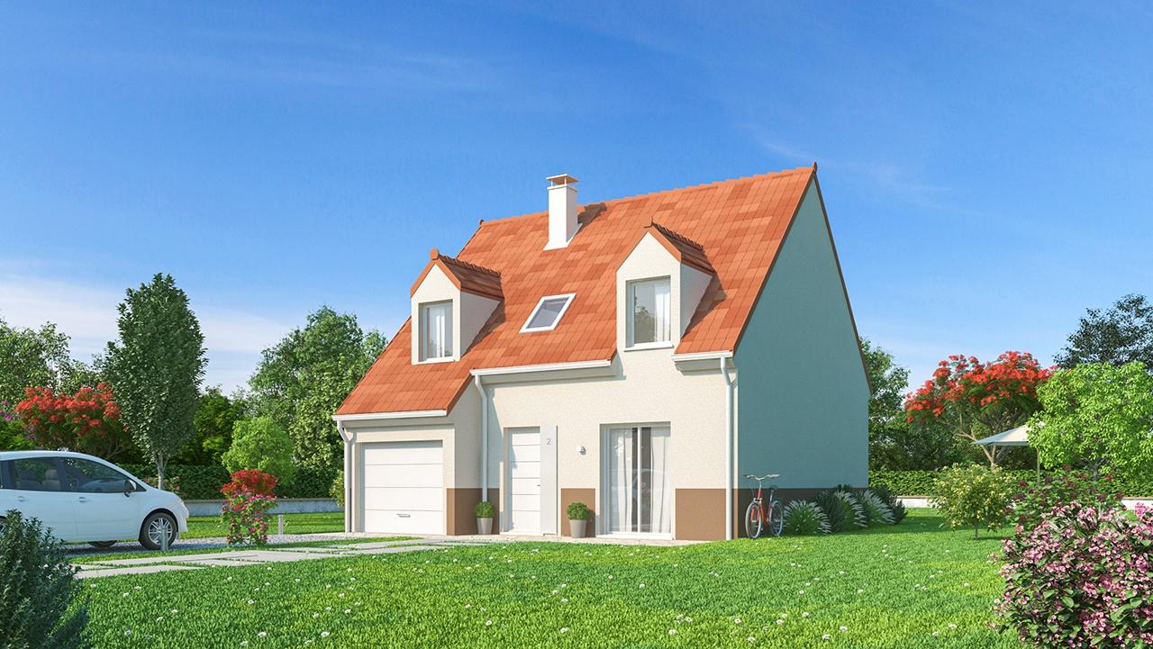 Maisons + Terrains du constructeur MAISONS PHENIX • 99 m² • PIERRE LEVEE