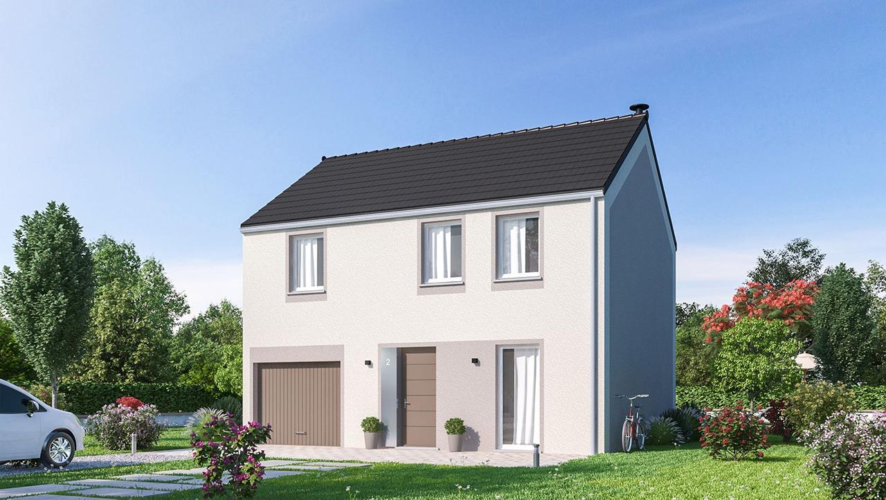 Maisons + Terrains du constructeur MAISONS PHENIX • 99 m² • SAINT CYR SUR MORIN