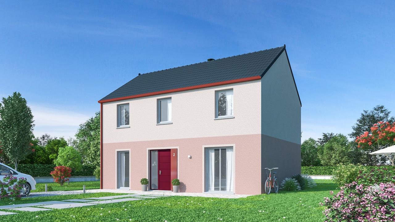 Maisons + Terrains du constructeur MAISONS PHENIX • 131 m² • MONDEVILLE