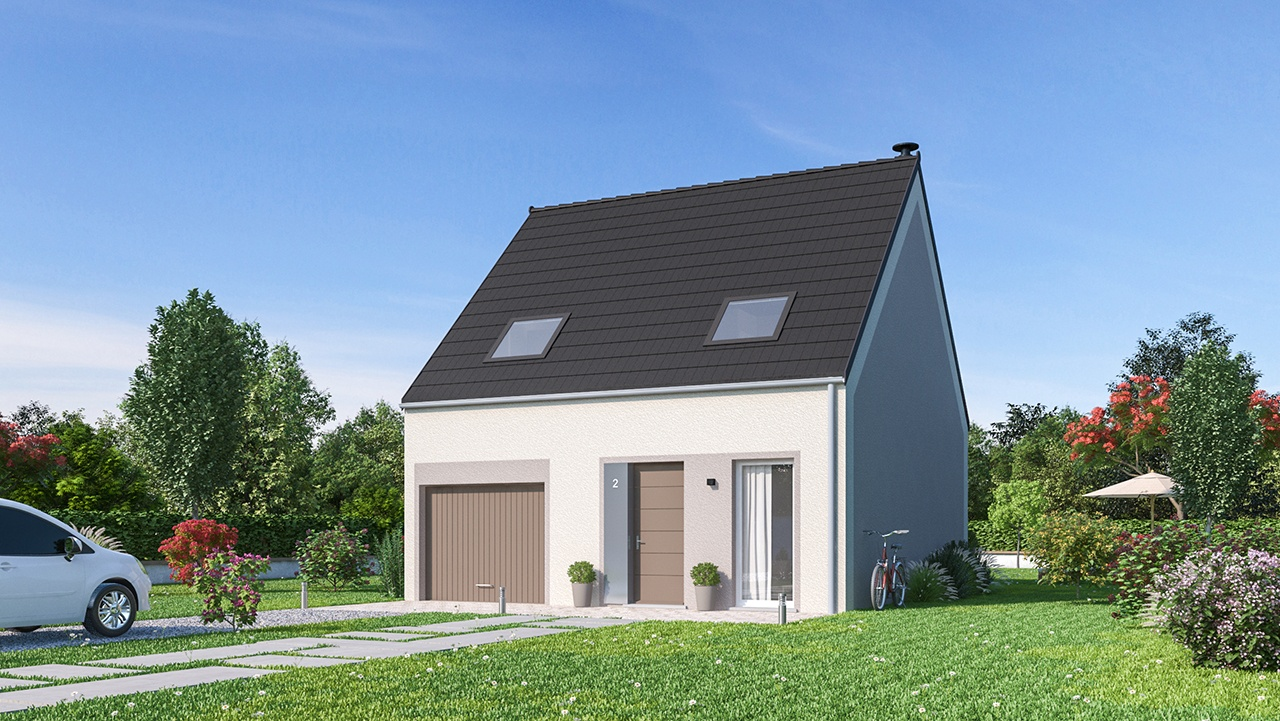 Maisons + Terrains du constructeur MAISONS PHENIX • 83 m² • LONGPONT SUR ORGE