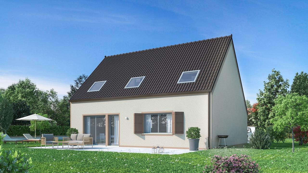 Maisons + Terrains du constructeur MAISONS PHENIX • 132 m² • LISSES