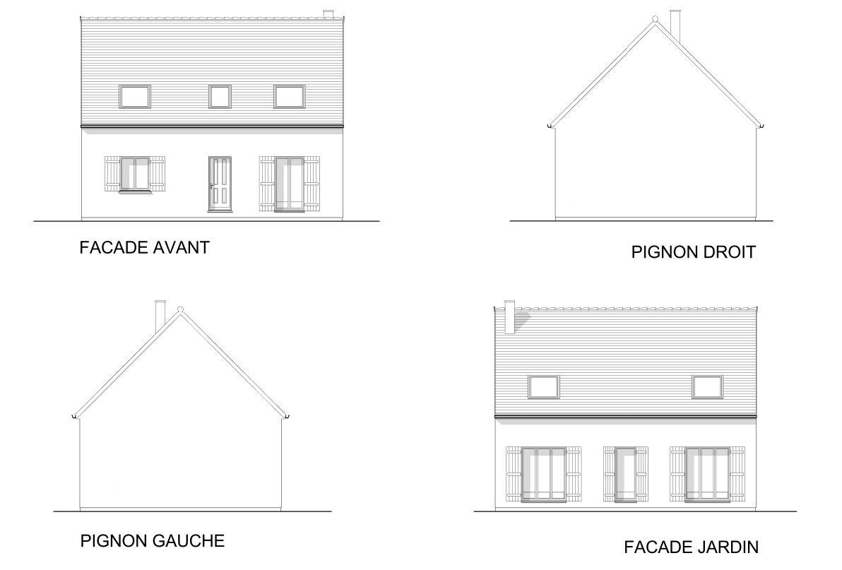 Maisons + Terrains du constructeur MAISON FAMILIALE • 115 m² • SAINT VRAIN
