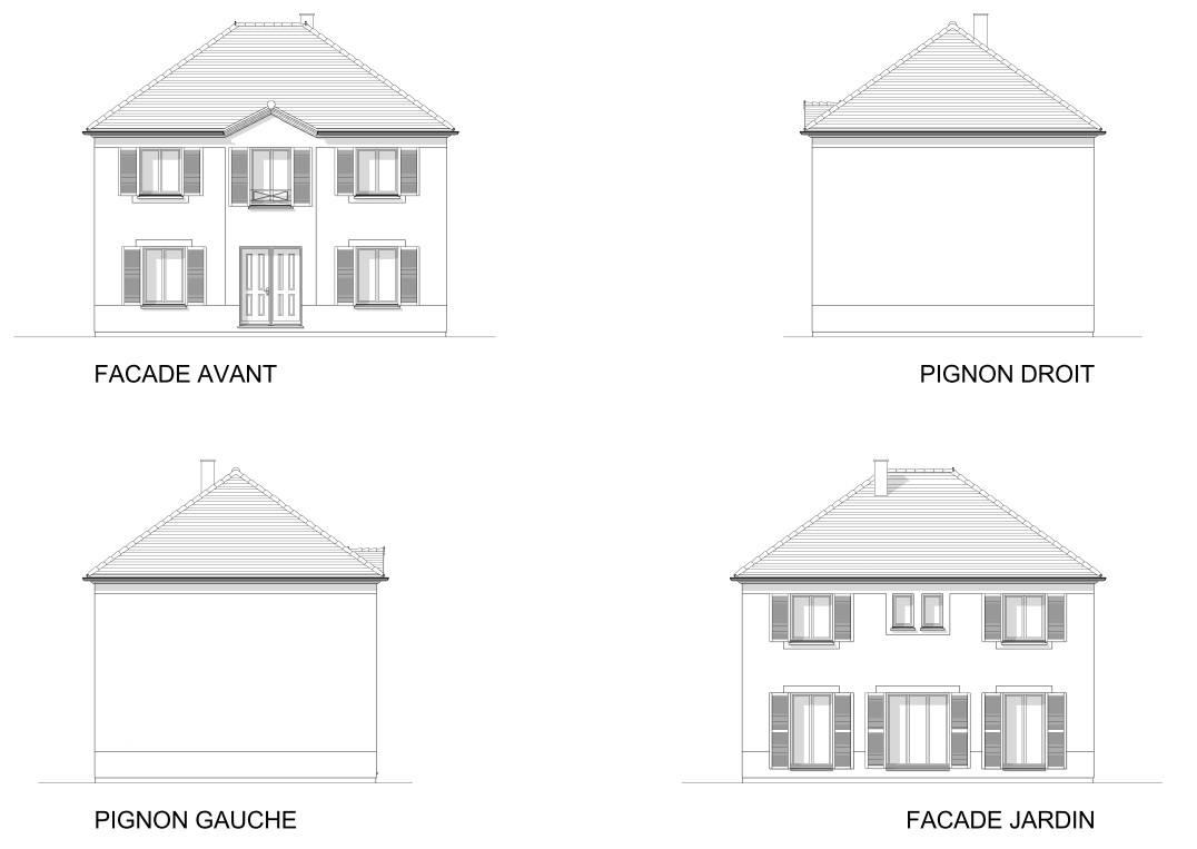 Maisons + Terrains du constructeur MAISON FAMILIALE • 126 m² • FORGES LES BAINS