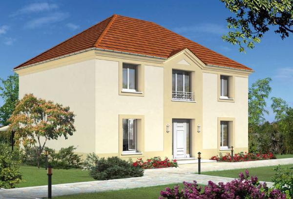 Maisons + Terrains du constructeur MAISON FAMILIALE • 128 m² • COURPALAY