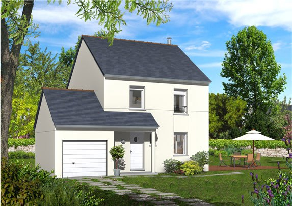 Maisons + Terrains du constructeur MAISON FAMILIALE • 95 m² • FOSSES