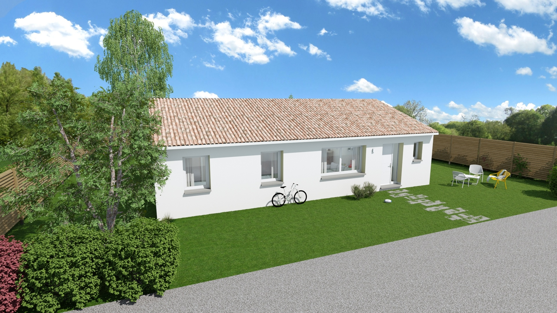 Maisons + Terrains du constructeur Maison Familiale Toulouse • 117 m² • VERNET