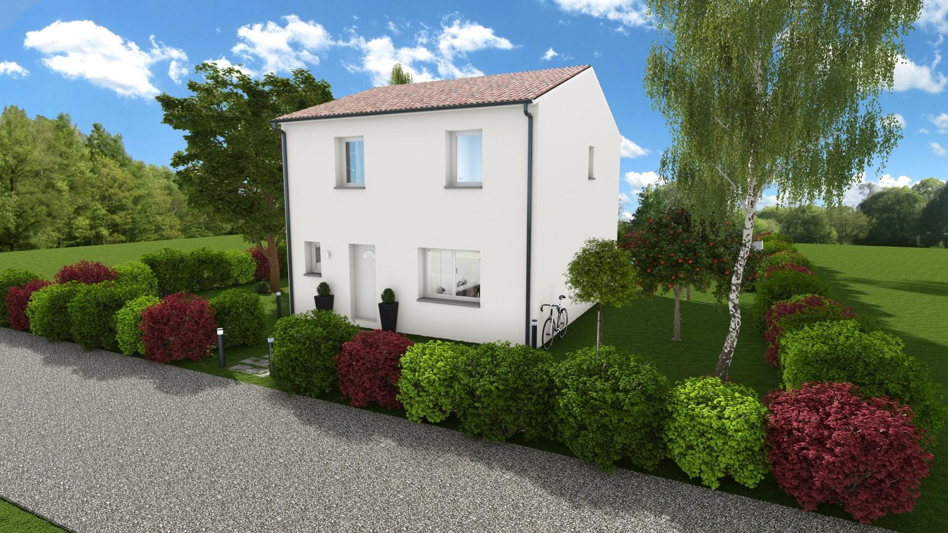 Maisons + Terrains du constructeur Maison Familiale Toulouse • 104 m² • BONREPOS SUR AUSSONNELLE