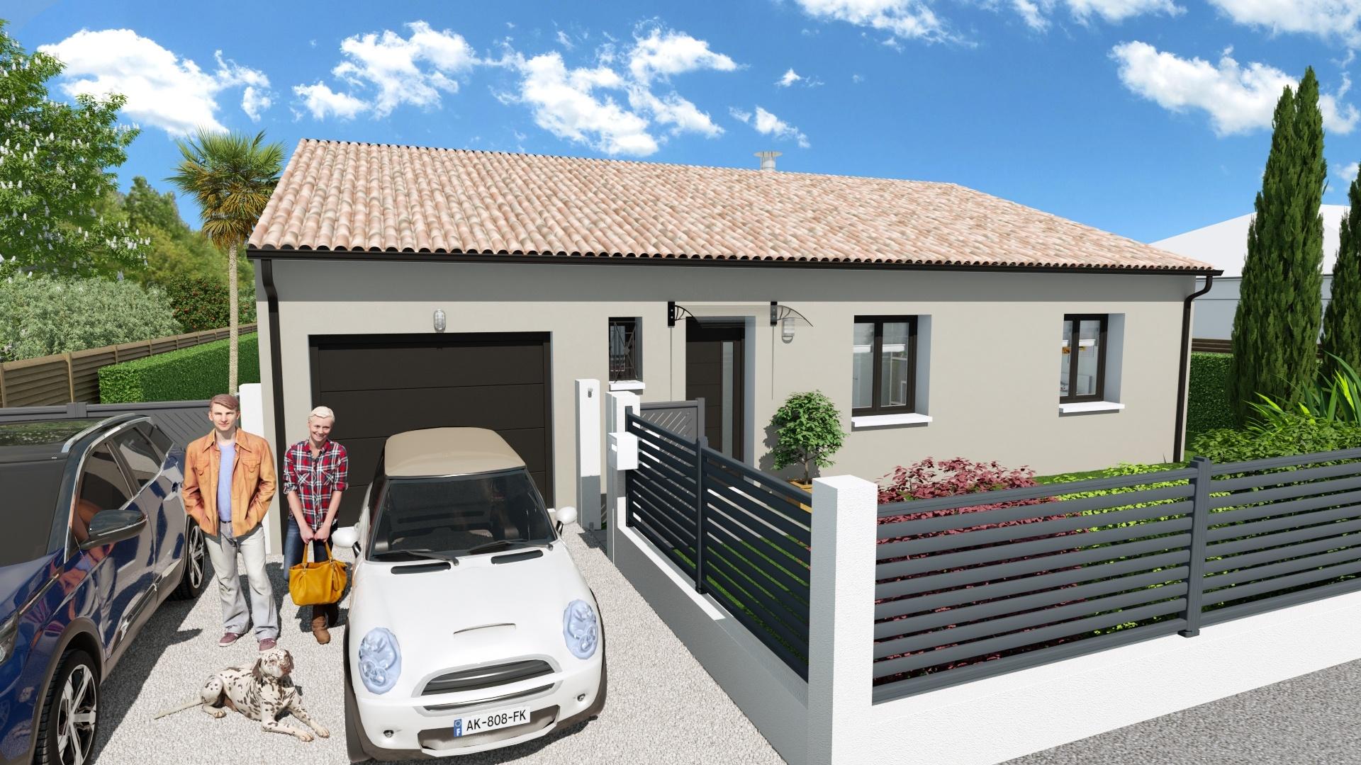 Maisons + Terrains du constructeur Maison Familiale Toulouse • 107 m² • LAPEYROUSE FOSSAT