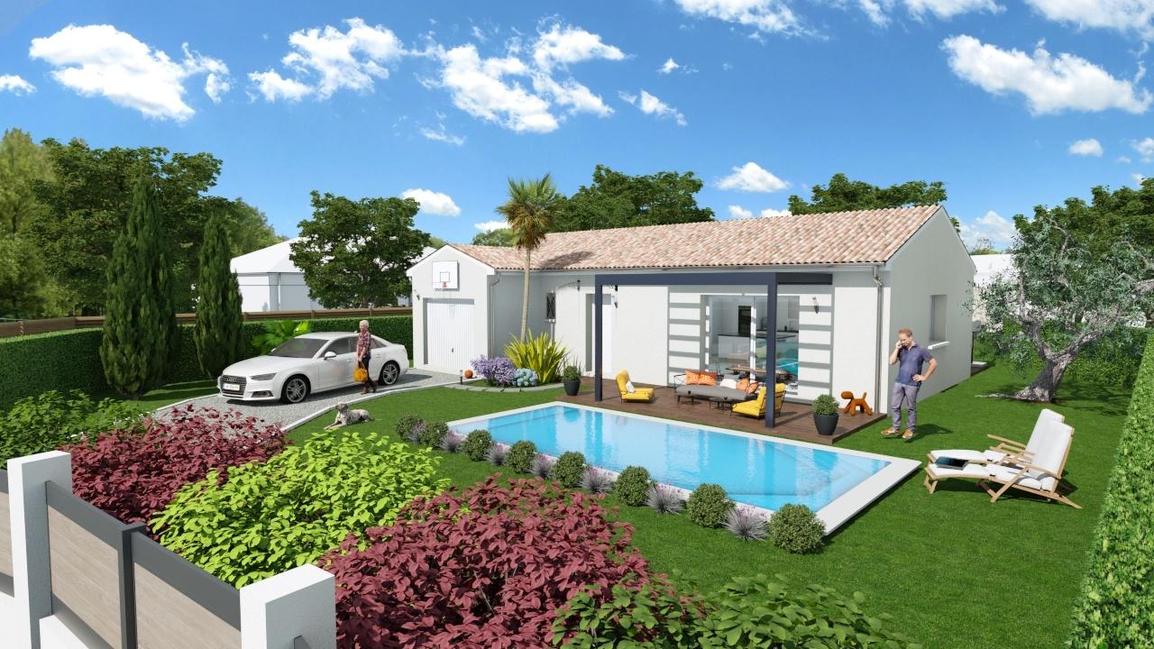 Maisons + Terrains du constructeur Maison Familiale Toulouse • 107 m² • VERNET