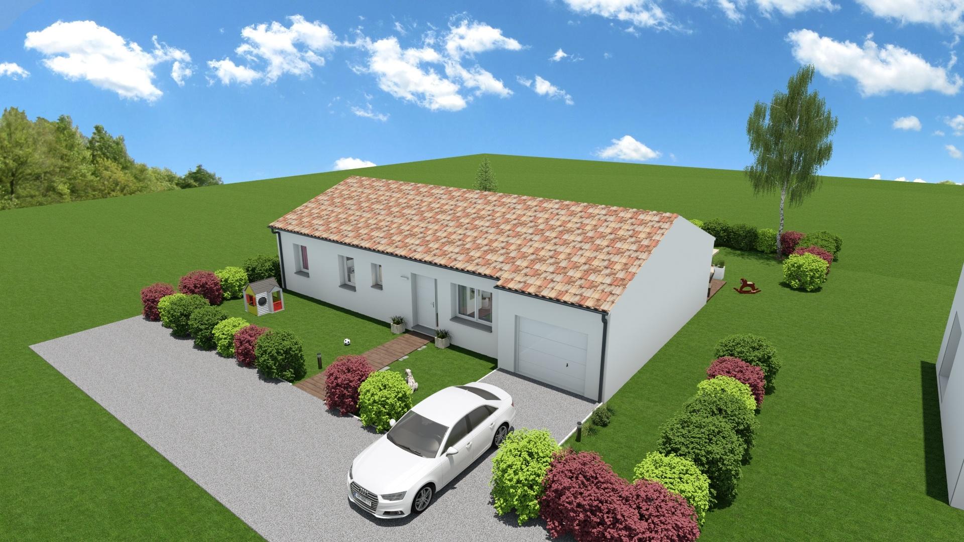 Maisons + Terrains du constructeur Maison Familiale Toulouse • 116 m² • LAPEYROUSE FOSSAT