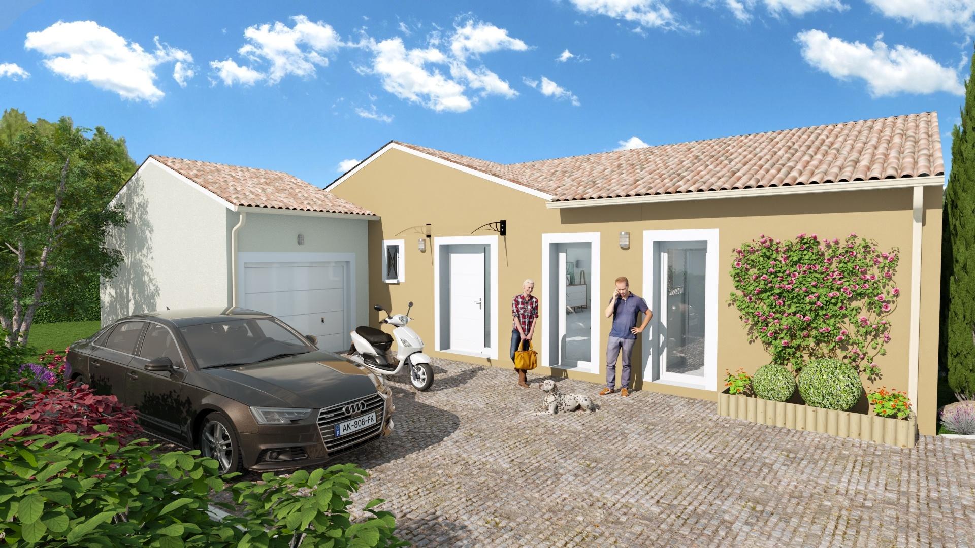 Maisons + Terrains du constructeur Maison Familiale Toulouse • 107 m² • VILLEMUR SUR TARN